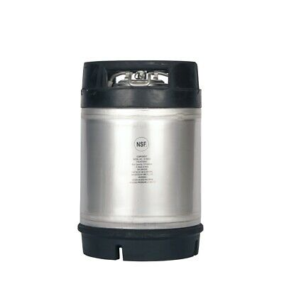 2.5 Gallon Ball Lock Keg New With Relief Valve - Homebrew Draft Beer Ships Free