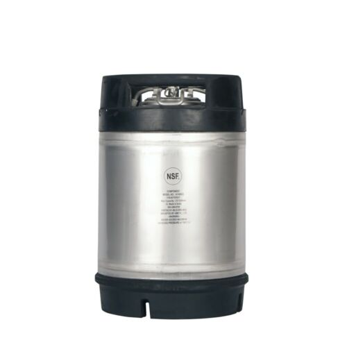 2.5 Gallon Ball Lock Keg New with Relief Valve - Homebrew Draft Beer Ships Free!