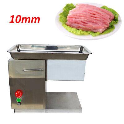 10mm Blade Electric Meat Slicer Meat Cutter Resturant Processing Machine 110v