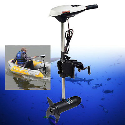 12V Hangkai Electric Trolling Motor Marine 65Lbs Inflatable Fishing Boat Engine