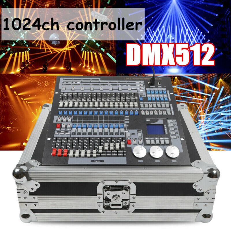 1024CH Channel DMX-512 Stage Light Controller Laser DJ Disco Lighting Console