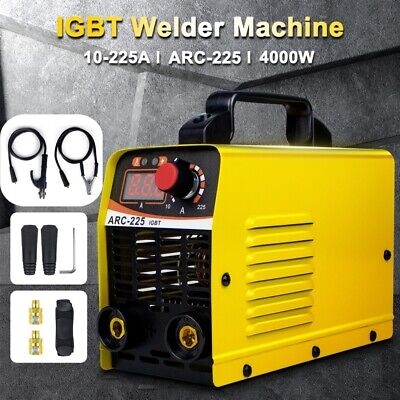 110v Mini Electric Welding Machine Igbt 10-225a Dc Inverter Arc Mma Stick Welder