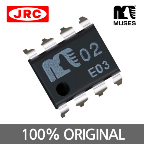 JRC MUSES02 DIP OPAMP Dual Operational Amplifier