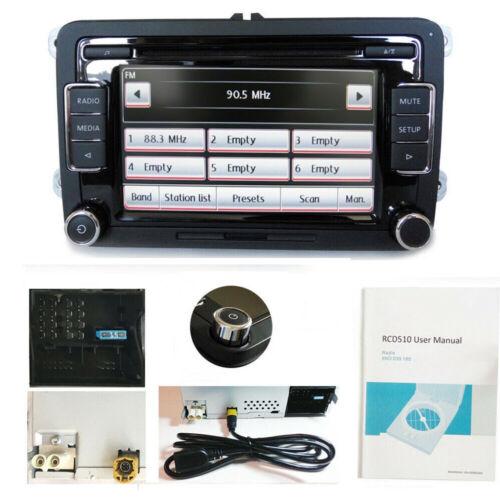 Autoradio RCD510+CANBUS/Gateway CD USB AUX Für VW GOLF CADDY SHARAN TIGUAN POLO