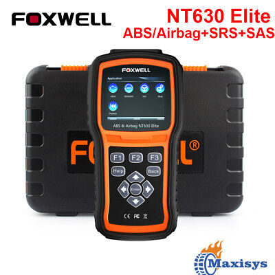 FOXWELL Automotive ABS SRS Reset Scanner OBDII Code Reader Diagnostic Scan