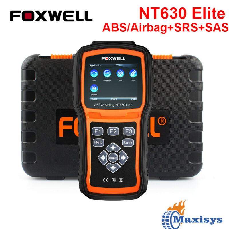 Foxwell Automotive Abs Airbag Reset Scanner Obdii Scan Tool Diagnostic Scanner