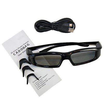 3D Active Shutter TV Glasses for Samsung UA55B8000XF, UA65C8000XF, UA46B8000XF