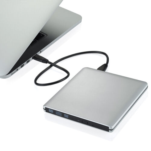 Usb 3.0 Ultra Slim External Optical Cd/dvd-rw Burner Writ...