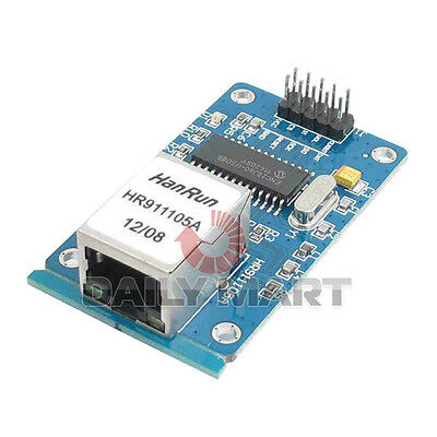 Enc28j60 Lan Ethernet Network Module 25mhz Crystal For Arduino Avr Lpc Stm32