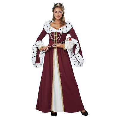 Womens Royal Storybook Queen Medieval Costume](Medieval Queen Costume)