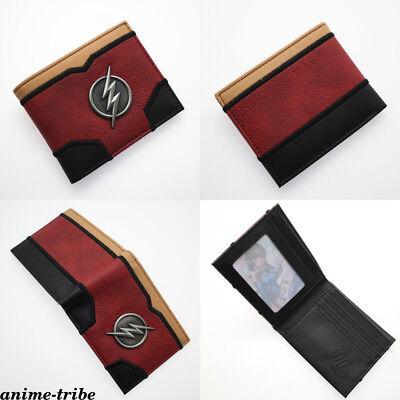 Marvel Avengers The Flash Deadpool Bi-Fold Wallet PVC short Card Holder Purses ()