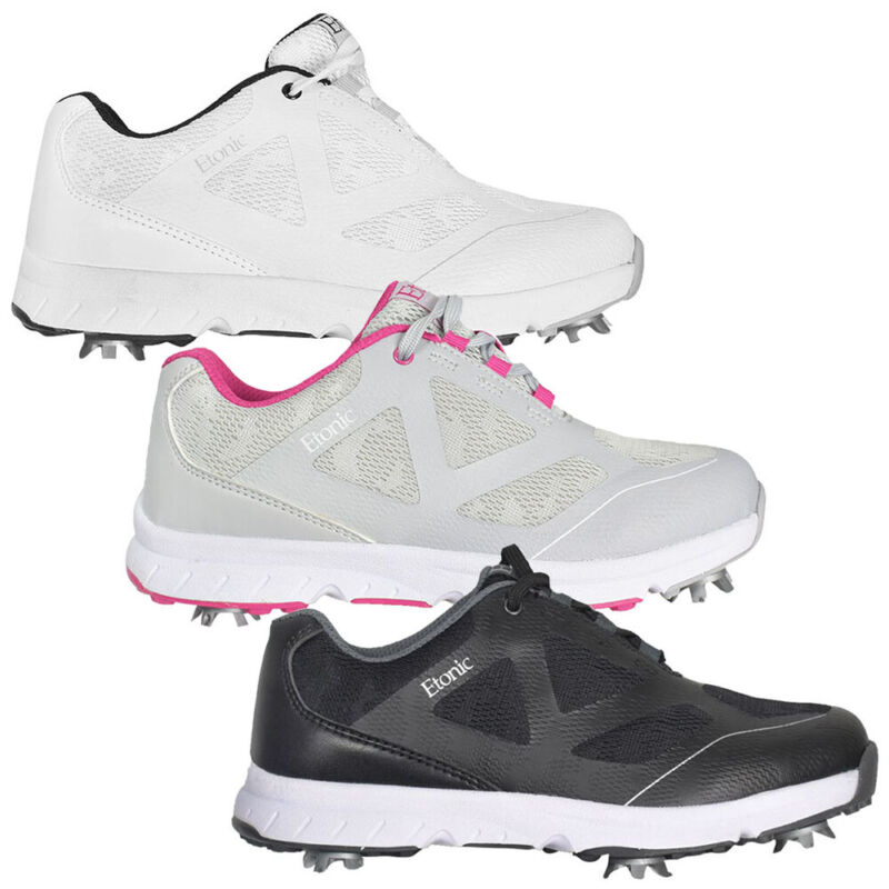 NEW Womens Etonic Stabilizer Sport Spiked Golf Shoes - Pick Size & Color!