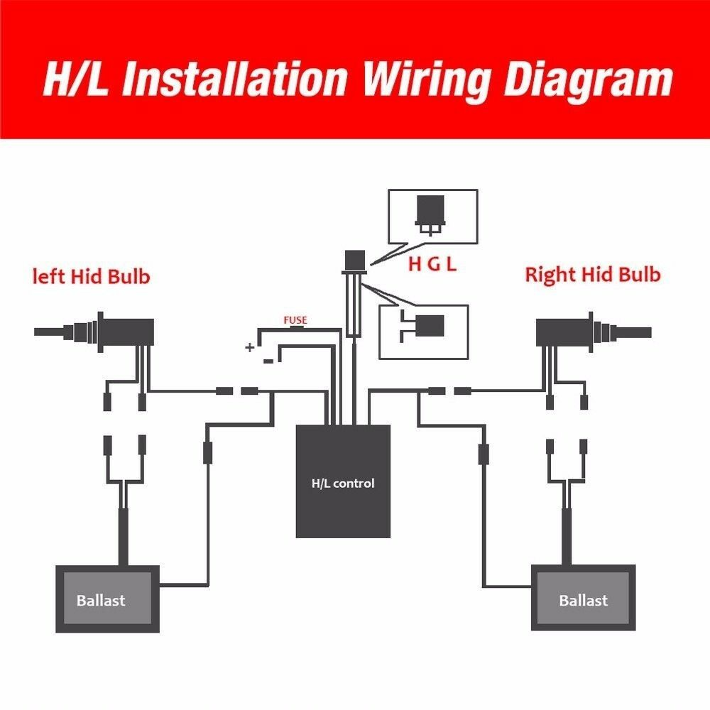 Details about 35W HID Xenon Headlight Conversion Kit Bulbs H1 H4 H7 on h4 headlight wiring, h13 headlight wiring, h9 headlight wiring, h1 headlight wiring,