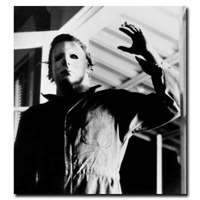 Michael Myers Halloween Games (Halloween Michael Myers 24x26inch Classic Horror Movie Silk Poster Wall)