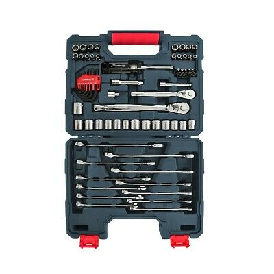 NEW Master Tool Kit.Professional Mechanic Shop Set w/ Case.Car Auto Home Repair.