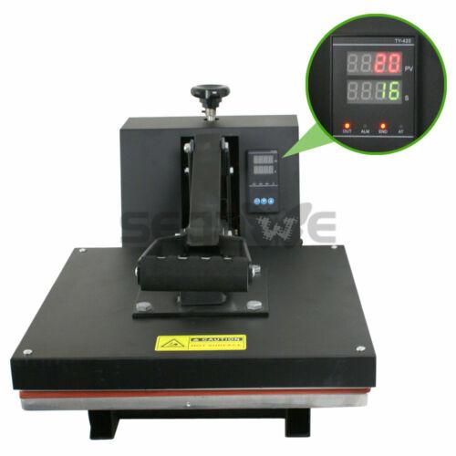 "15"" X 15"" CLAMSHELL HEAT PRESS T-SHIRT Digital TRANSFER SUBLIMATION MACHINE New"