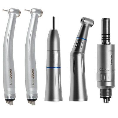 Dental Contra Angle Straight Air Motor Fit Kavo 2high Speed Handpiece 4 Hole