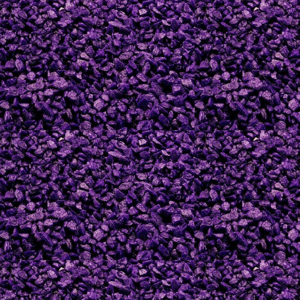 2 kg Aquarium Kies  Glamour Stone Urban- Purple  lila  Aquariengrund Ø 6 - 9 mm