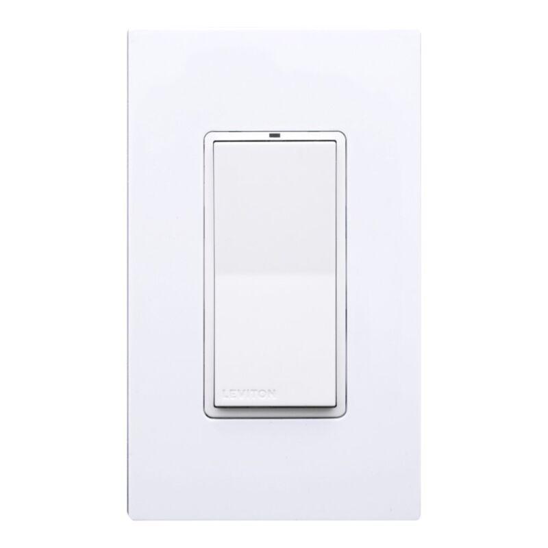 Decora Digital Switch w/ RF Wireless Control 15 Amp Max. Multi-Location Leviton