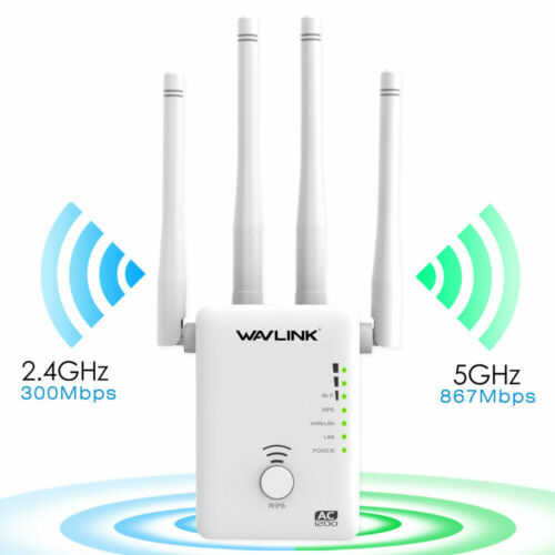 Ac1200 dual-band WiFi repeater and router, 2.4g& 5g Wireless-N range extender