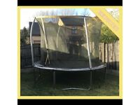10ft 3m Large Round Trampoline Safety Net Garden Feet Metres Toys Childrens Childs RRP £195