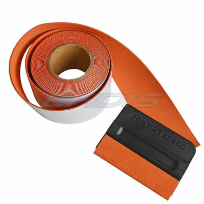 5M Suede Replacement Felt Edge for  Squeegee Vinyl Wrap Tools Scratch FREE UK