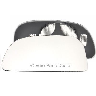 Right for Mitsubishi Space Star 98-04 Wide Angle heat wing door mirror glass