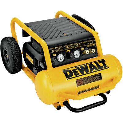 Dewalt D55146 1.6 HP 4.5 Gallon Oil-Free Wheeled Portable Ai