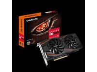 3X Gigabyte AMD Radeon RX 580 4GB GAMING Graphics Card