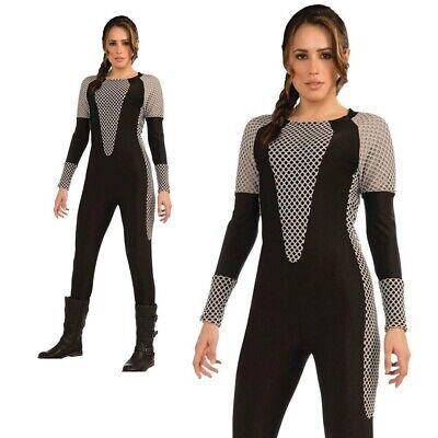 Katniss Hunger Games Overall Kostüm Damen TV Film Kostüm Outfit 6-10