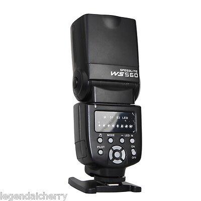 Flash Speedlite Speedlight WANSEN WS-560 for Nikon Canon Olympus Pentax Flashgun