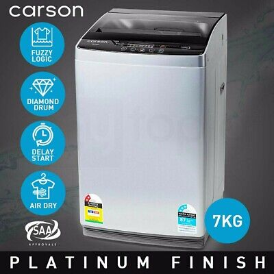 CARSON Washing Machine 7kg Platinum Automatic Top Load Home Dry Wash for sale  Shipping to Nigeria