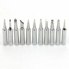 11pcs Solder Soldering Station Iron Tips for 900M 933 936 937 376 907 913 951