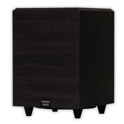 "Acoustic Audio PSW-8 Home Theater Powered 8"" Subwoofer 300 W"