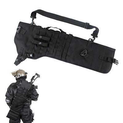 Shotgun Carrying Case - Black Hunting Rifle Scabbard Rifle Shotgun Military Case Shoulder Carry Bag