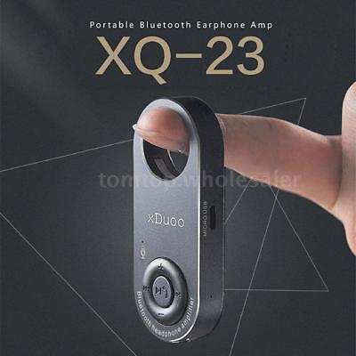 xDuoo Portable Bluetooth Headphone Amplifier APTX USB Headphone Amp Mic T2T5 for sale  Shipping to Canada