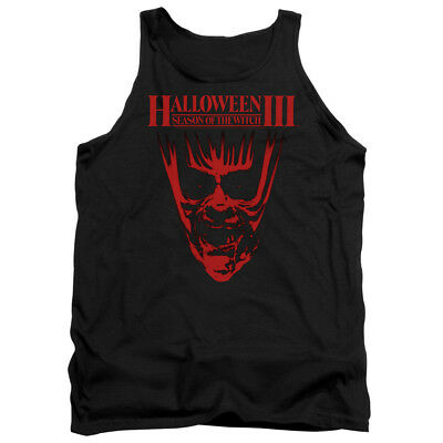 Top Halloween Horror Movies (Halloween III Horror Slasher Movie Series Title Adult Tank Top)