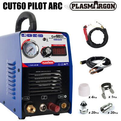 Gbt Air Plasma Cutter Machine 60a Pilot Arc Cnc Machine For Metal P80 45pcs