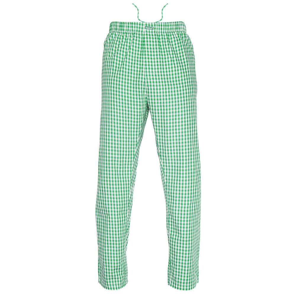 Ritzy Kids/Boys/Men Pajama Pants 100% Cotton Plaid Woven – GR & WH Checks Boys