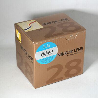 Unopened New Nikon AF Nikkor 28mm f/2.8D Lens F2.8D Wide Angle Lens