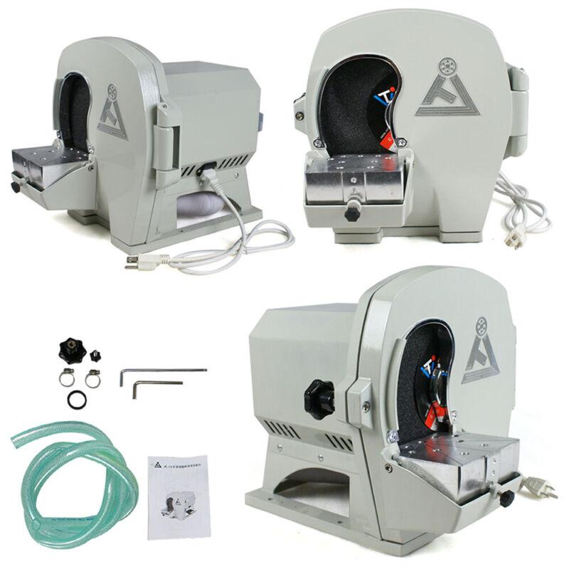 Wet Dental Model Trimmer Abrasive Disc Wheel Gypsum Arch JT19 Lab Device 110V US