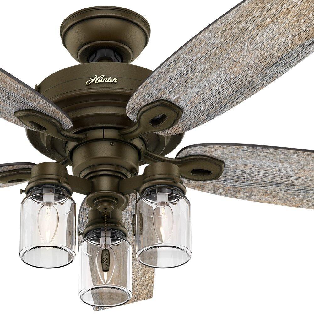 fan light ceiling ceilings kit mason co led tulum jar smsender conversion