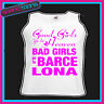 BAD GIRLS GO TO BARCELONA HEN PARTY HOLIDAY VEST TOP
