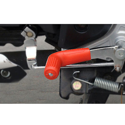 Red Universal Motorcycle Parts Rubber Shifter Lever Socks Shoes Protecting Cover