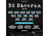 2 x Ed Sheeran Standing Tickets Wembley Arena 16th June 2018