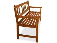 BRAND NEW WOODEN GARDEN BENCH SLIGHT DEFECTS
