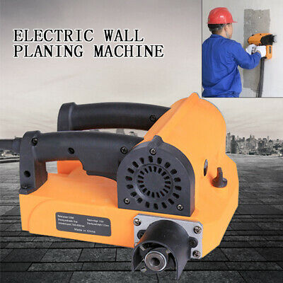 1400w Portable Electric Wall Chaser Planer Wall Planing Machine W Spanner 110v