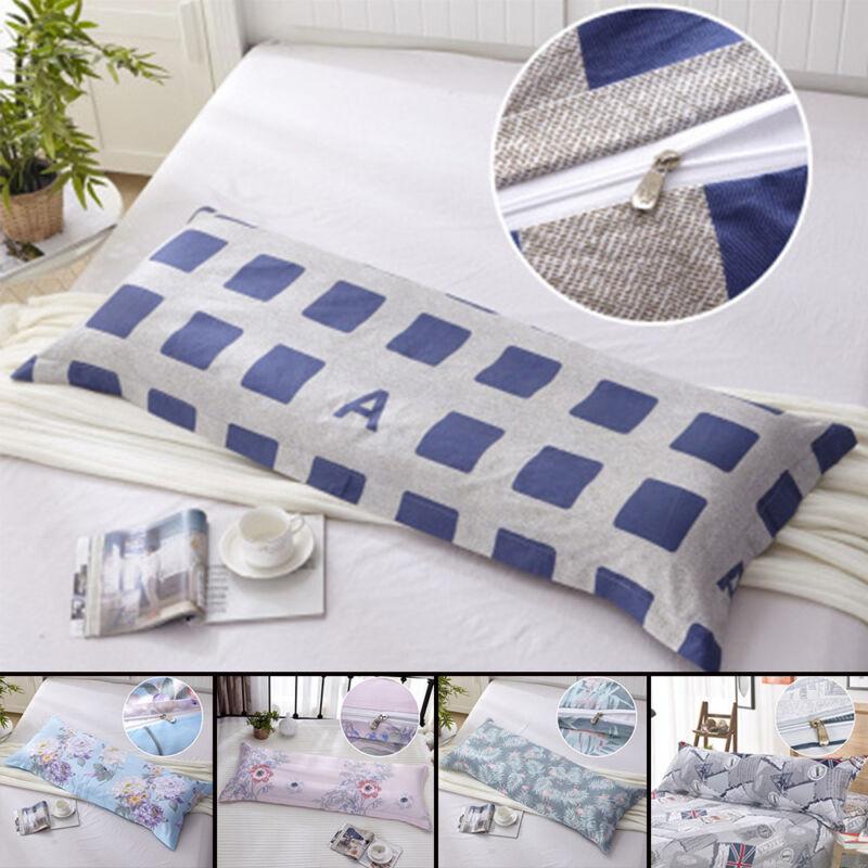 Bedding Long Body Pillow Case Covers Pillowcase Non-slip Pro