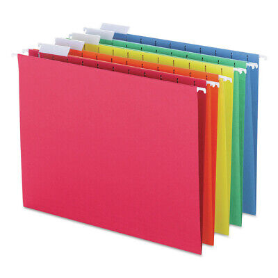 Smead 64059 25-pc. Hanging File Folders Assorted Colors - Letter New