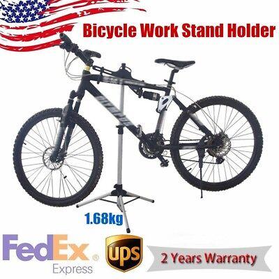 Bicycle Maintenance Mechanic Work Repair Stand Holder Tool Arm Rack Adjustable - Mechanic Work Stand
